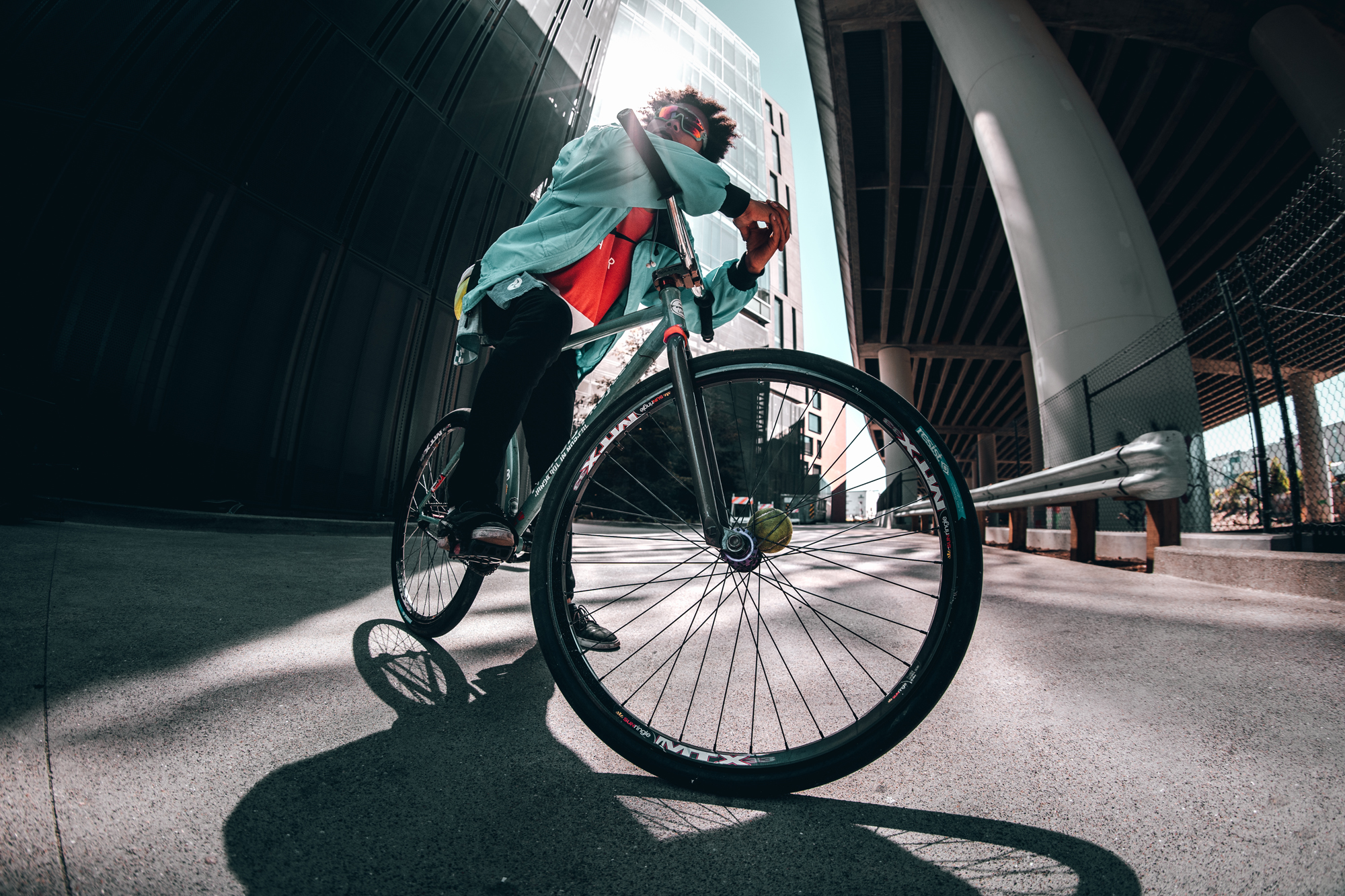 FIXED GEAR BIKE CHECK – ANDY SPARK'S (GALAXY FIGHTER